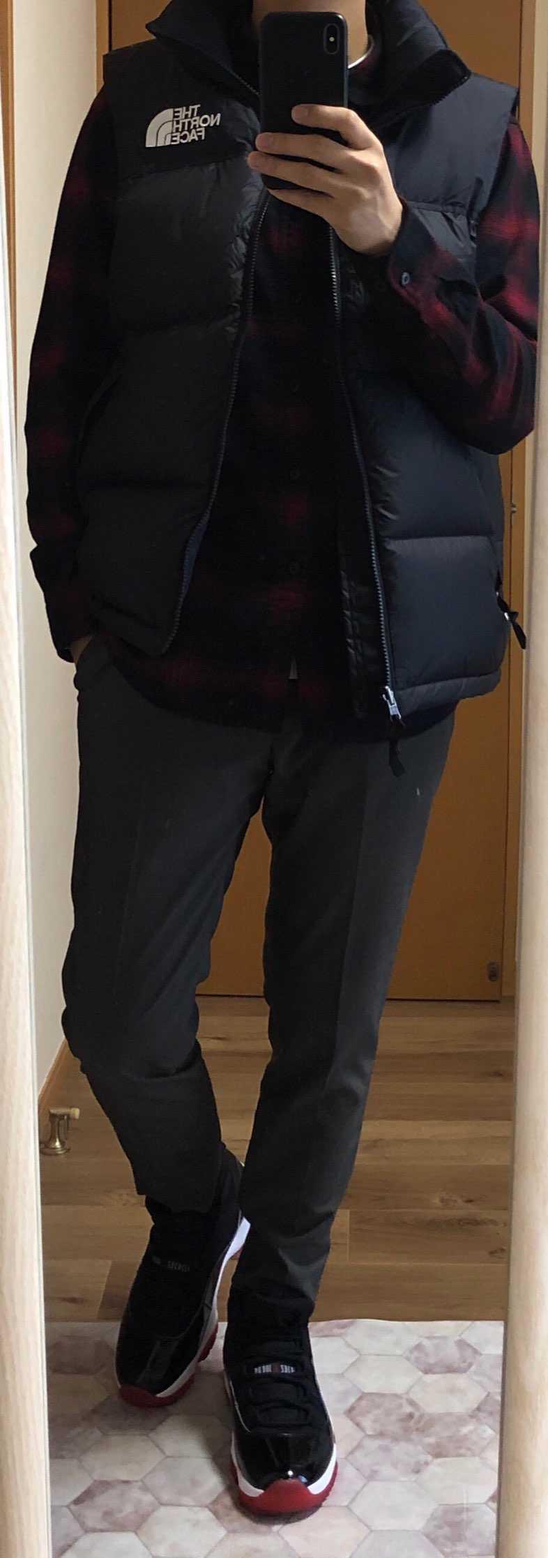 本日はスーツ購入に出かけようと思い、その際のコーデに頭を悩ませていました