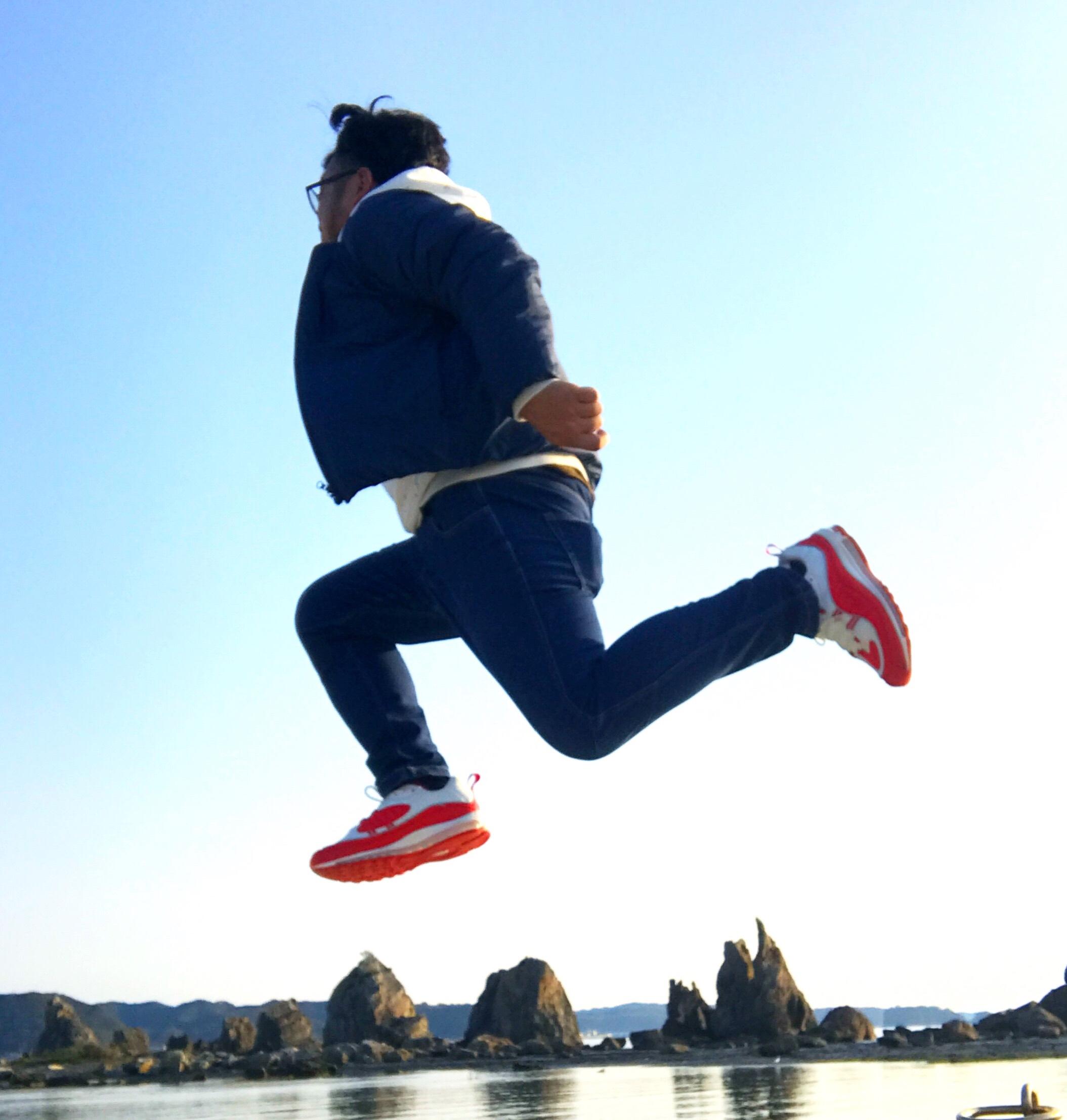 Air Max で和歌山橋杭岩