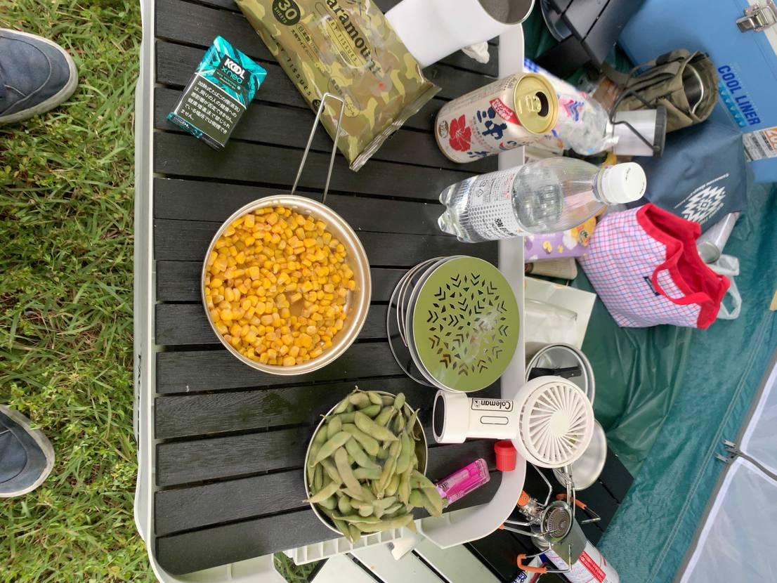 今日はキャンプやで 麺は食わへんで