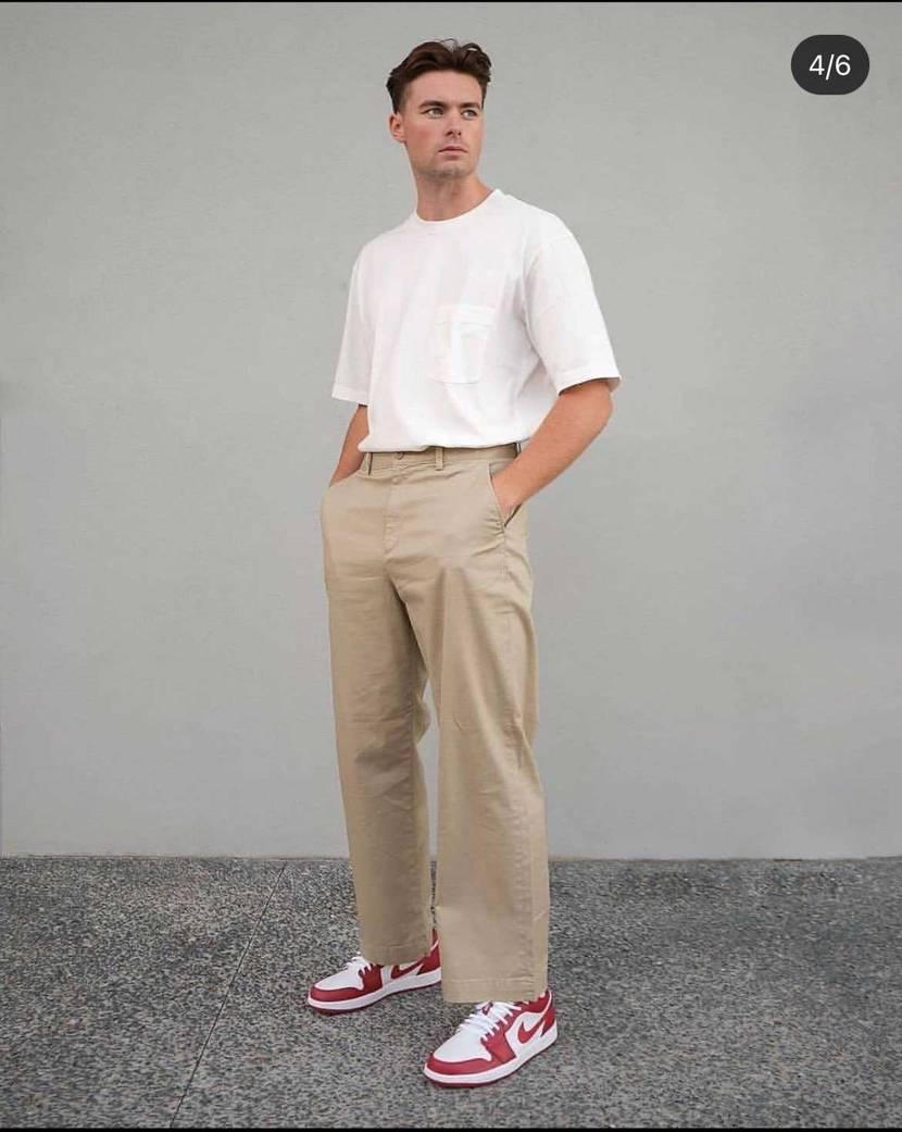 スニーカー関係なくてごめんなさい🙏 こんな感じのパンツが欲しいんですけどおすす