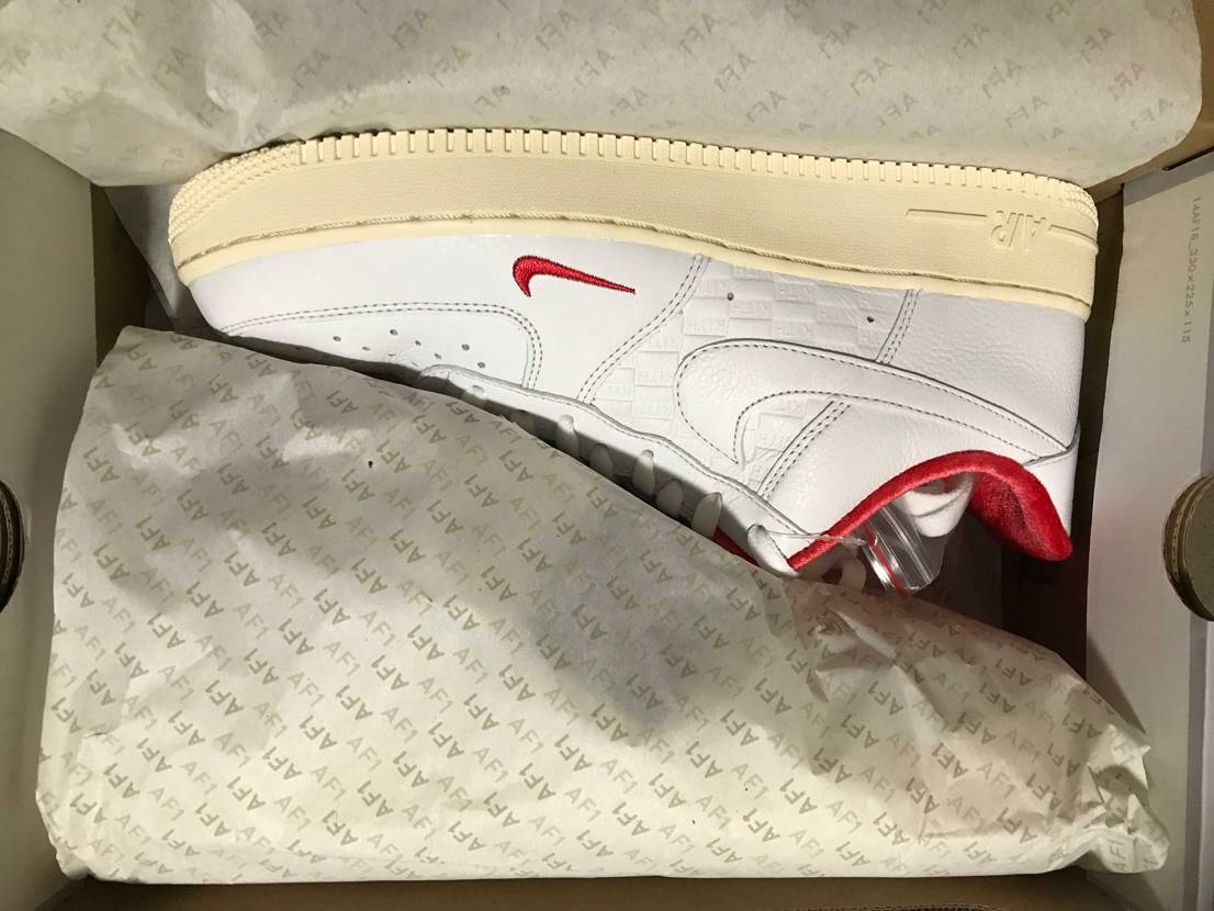 KITH × NIKR AIR FORCE 1 LOW  買いました。 プレ値