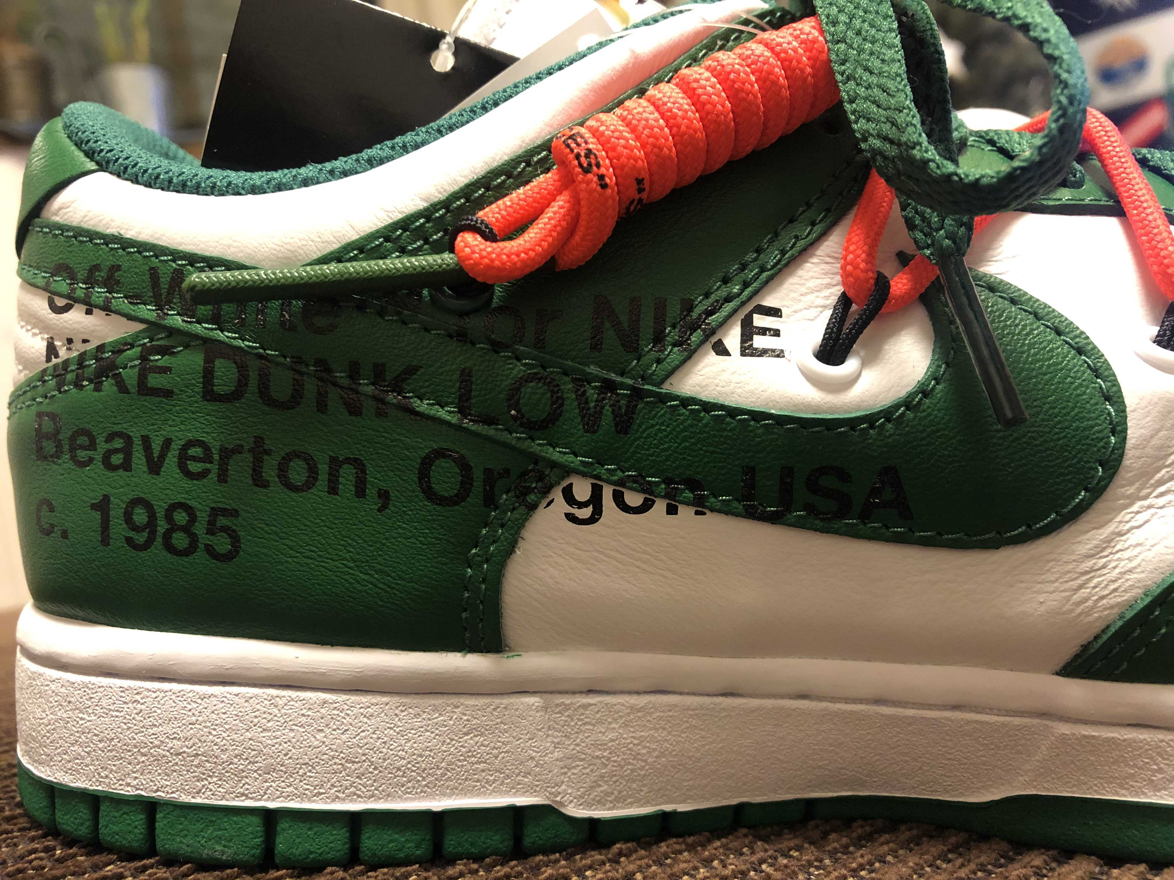 NIKE OFF-WHITE DUNK LOW
