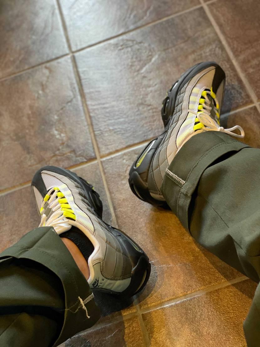 早速履いてます 憧れだった靴履けるのうれちい