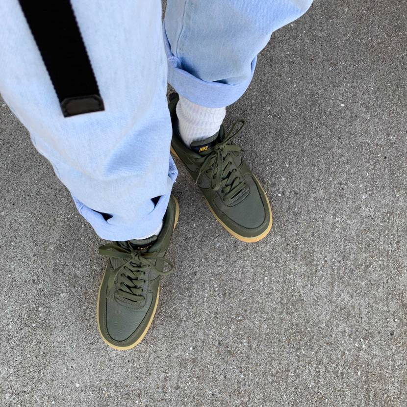 80sファッションに身を包まれ足元はGORE-TEX かわいい 24センチだけ