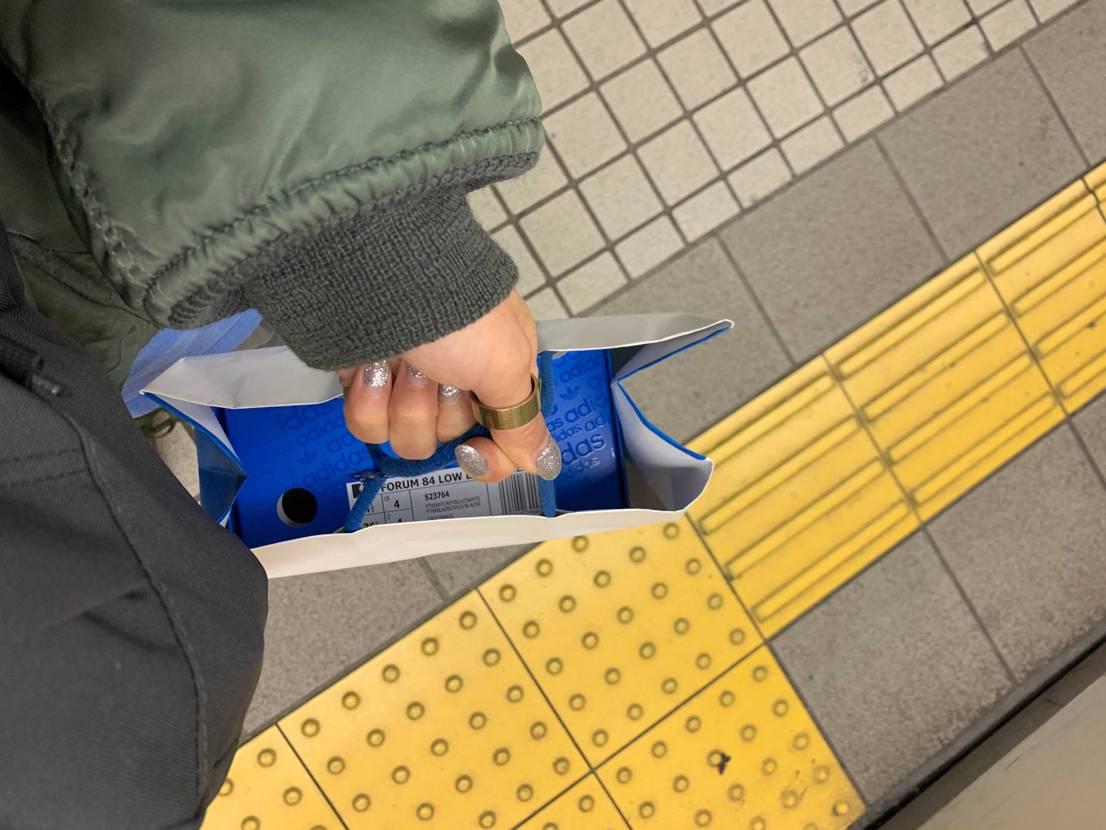 adidasオリジナルズ心斎橋はレディースサイズならあるみたいです! 購入(