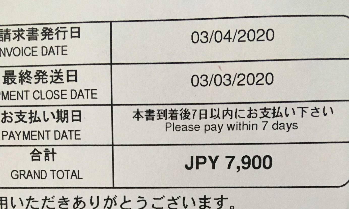 end購入でfedexから関税来ましたがsnsは3400円だったのに7900円。