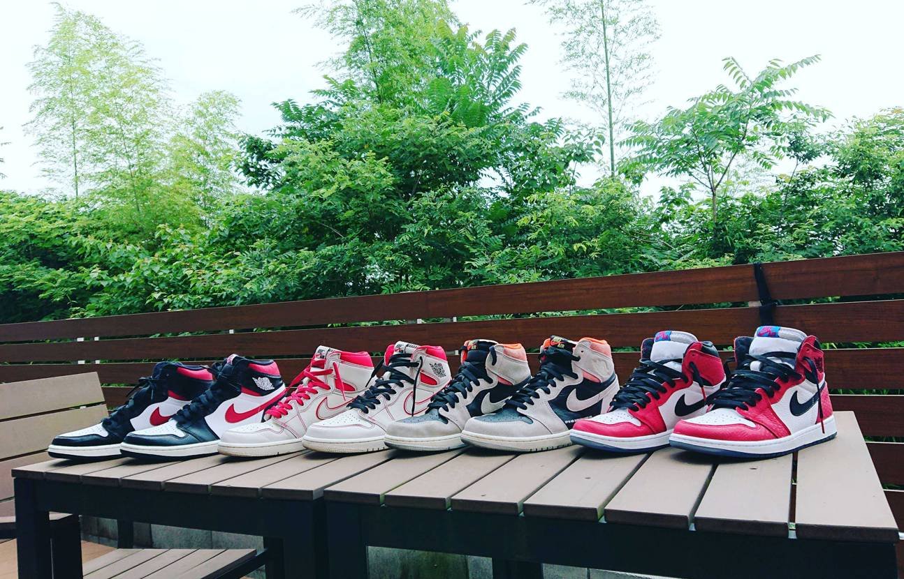AIR JORDAN 1 Collection やっぱりChicagoとBred