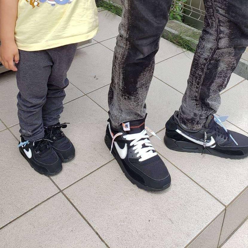 久し振りに天気良いし、公園行くか  え、パパとお揃いのスニーカーがいい? いや、