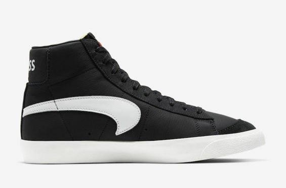 A Black And White Slam Jam x Nike Blazer