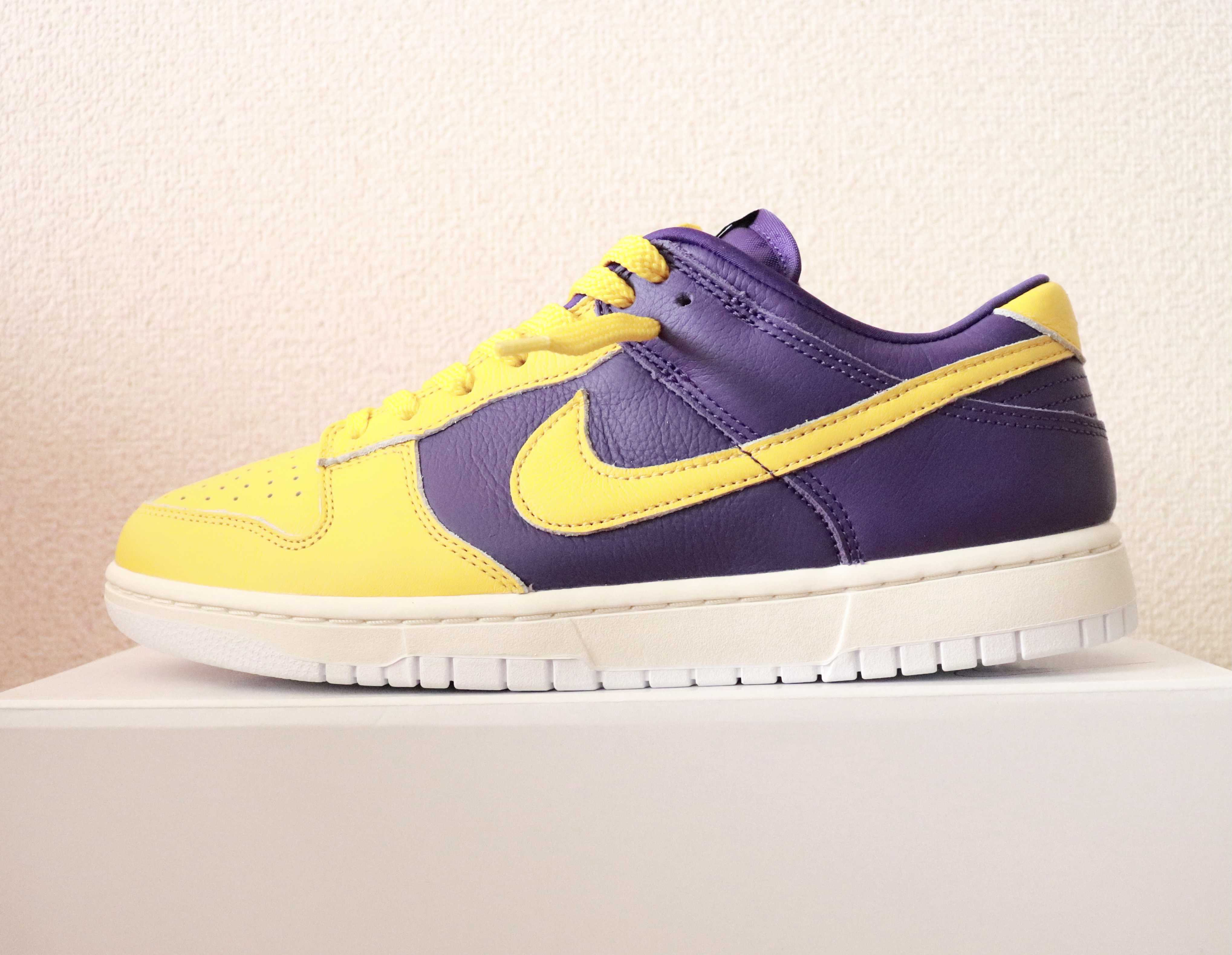 """NIKE DUNK Low By You  from """"LA Lakers"""""""