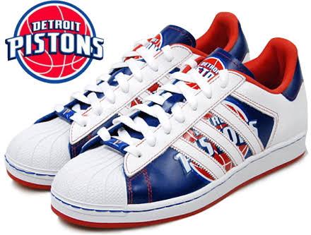 "SUPERSTAR NBA ""DETROIT PISTONS"""