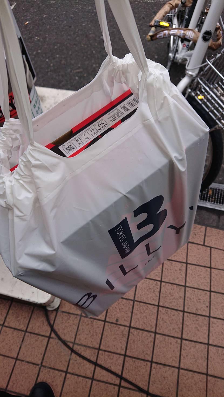BILLY'S ENT 大阪南堀江店で事前抽選ゲト。 結構atmos袋の人とすれ