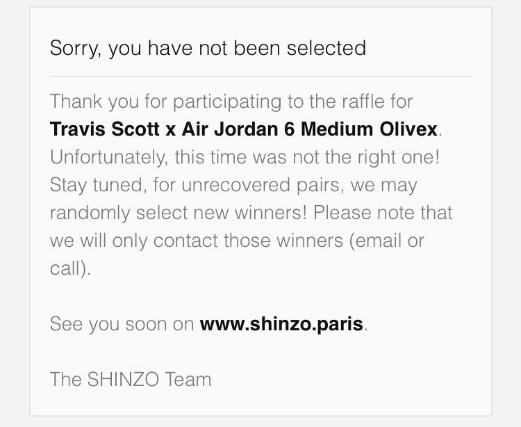 パリのSHINZOは仕事が早い。 1敗