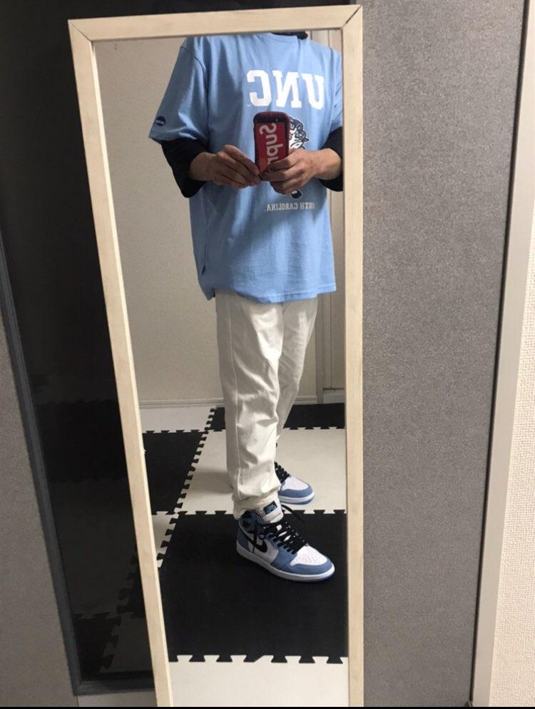 UNCTシャツ(しまむら)にあったので 買って合わしてみた😁 ディスるコメン
