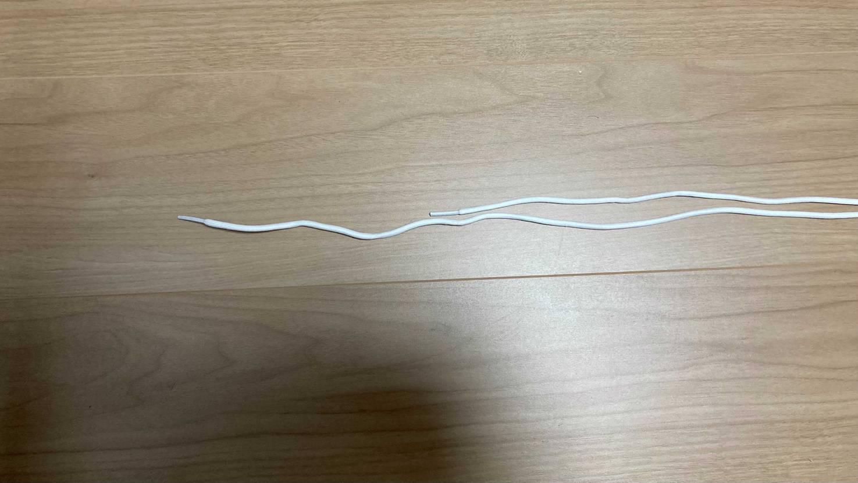 NIKE.comで買いましたが、靴紐の長さが左右に違いました。靴紐だけって交換効