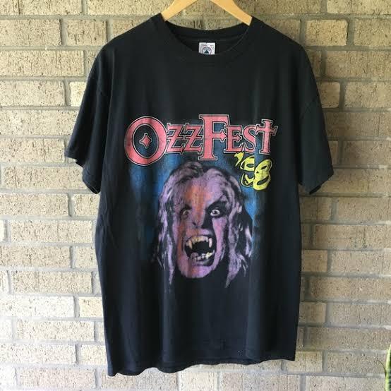 ozzfest'98のTシャツもってる個人や古着屋さん、おめでとうやね🍾🎉