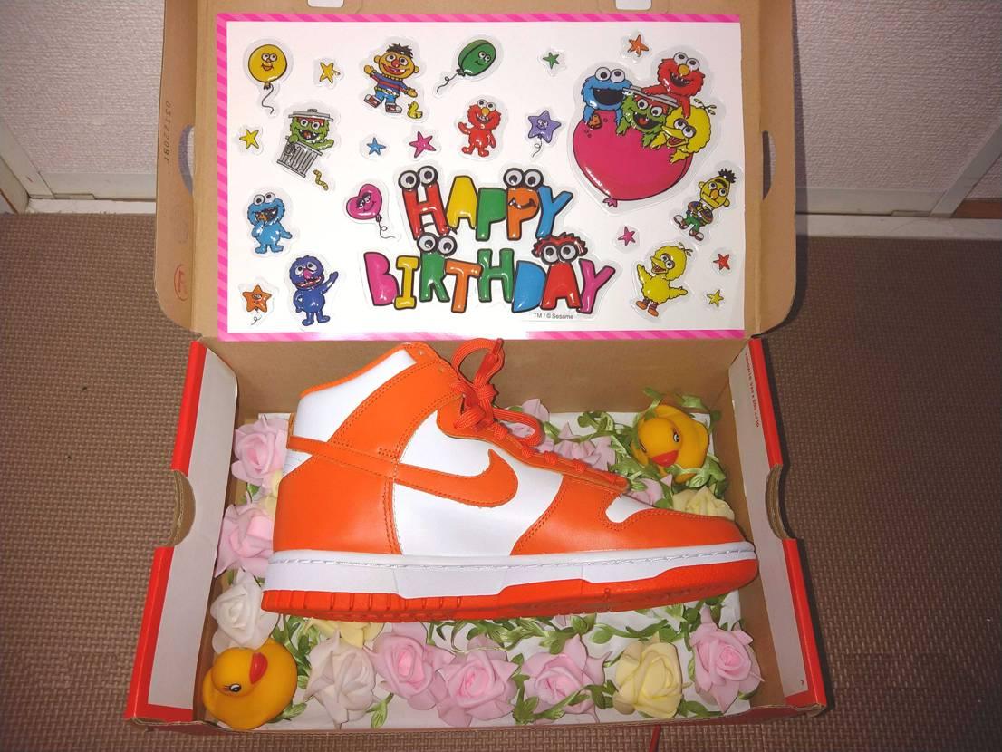 お誕生日プレゼントで購入。 キレイなオレンジ色で、自分も欲しくなる。