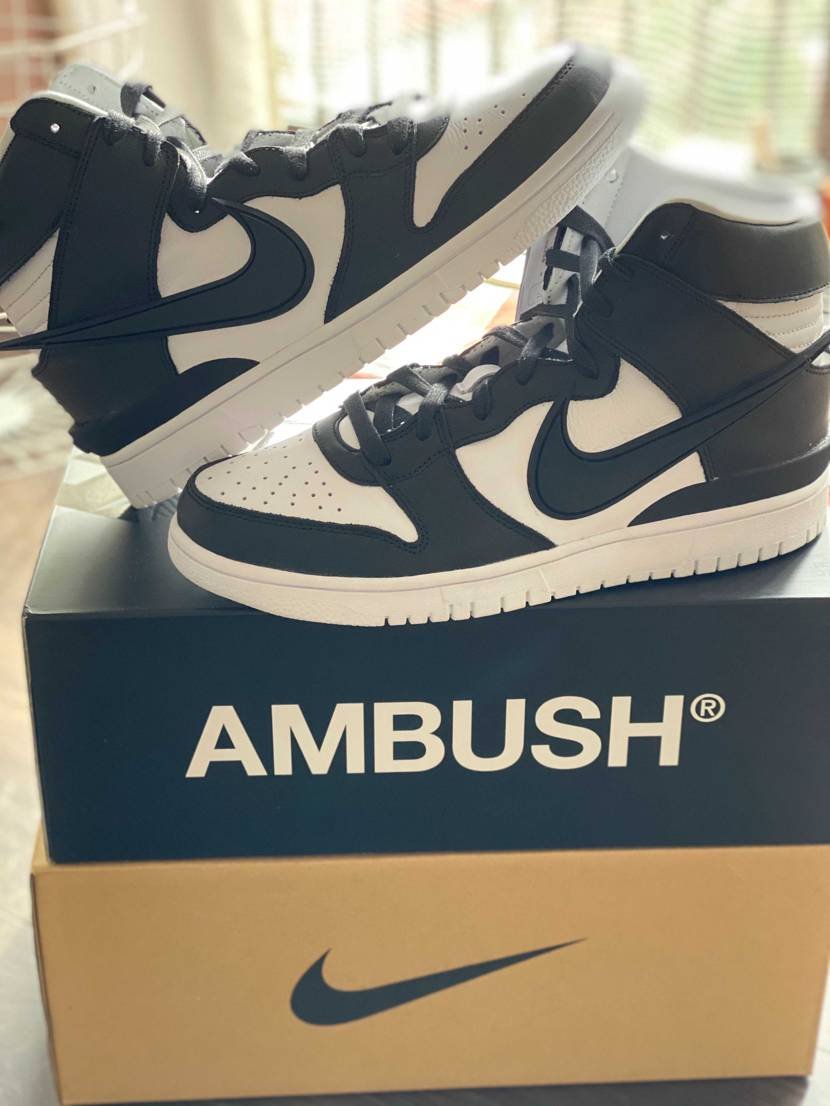 "AMBUSH × NIKE DUNK HIGH ""BLACK""✨  高級"