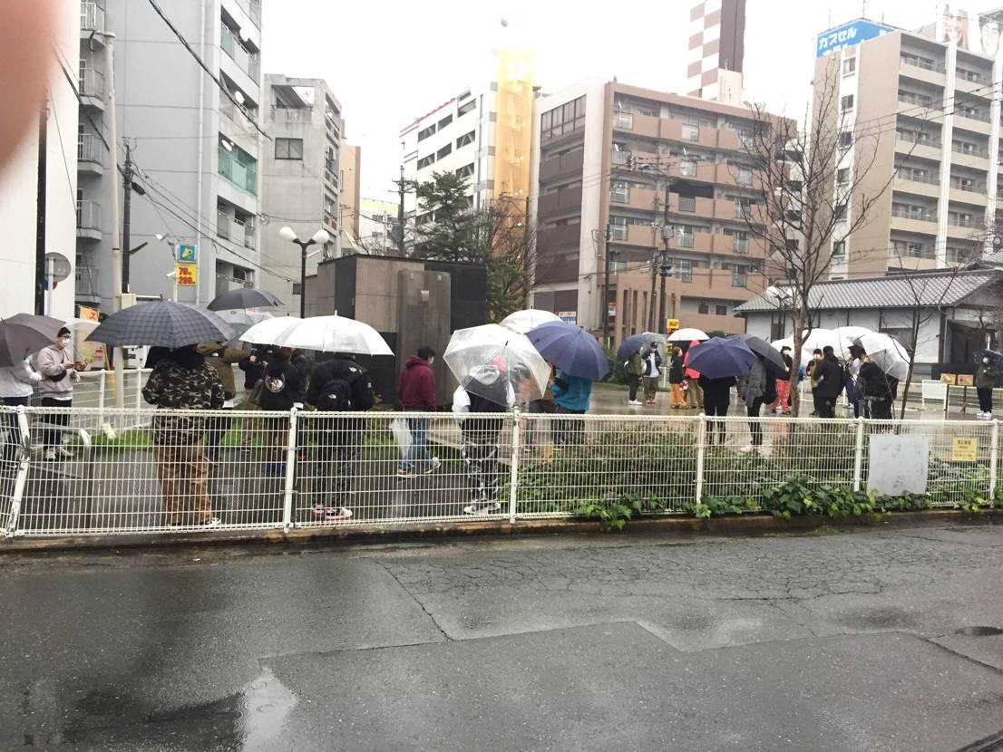 home base 熊本 160人ー180人くらいかなー(。・ω・。)
