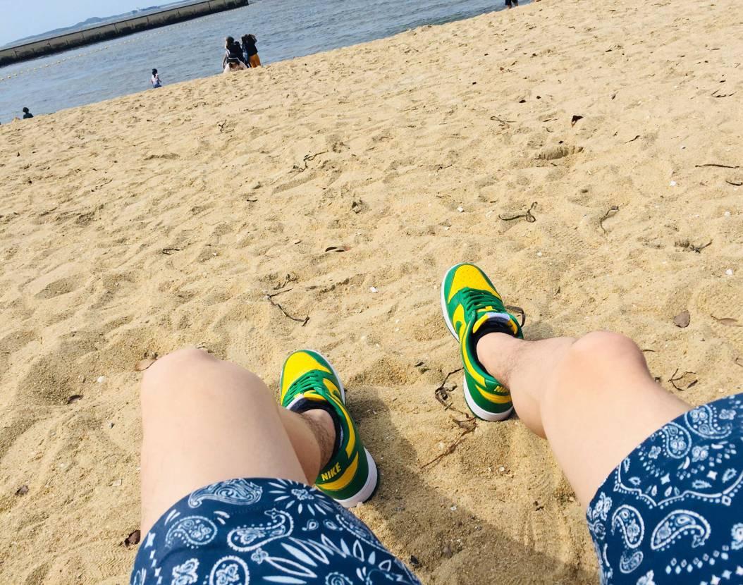 夏と海とブラジル🇧🇷  平日の忙しさを忘れますね(๑>◡<๑)