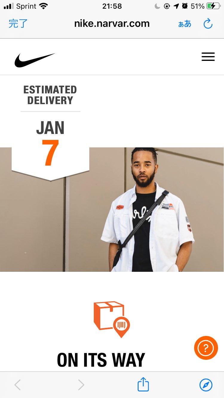 🇺🇸12/18にUS Nike.comの限定アクセスでGot'emしたデンハムブ