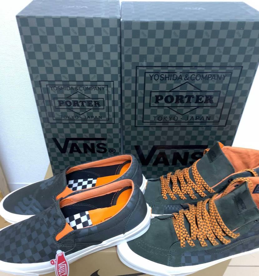 Vans×Porter 靴もさることながら、箱のクオリティが高くて驚いた。