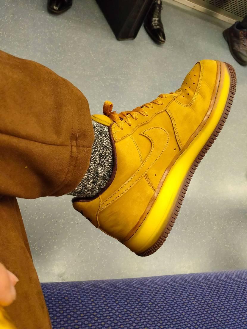 人気があるとかないとかではなく、好きな靴を履くのが一番いいな