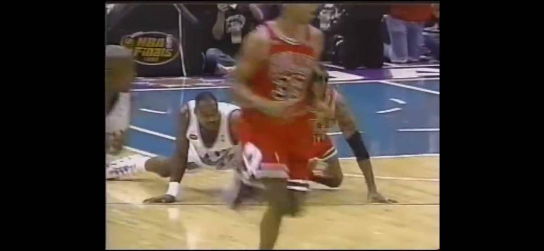 NBAをあまり知らないのでジョーダンを中心に昔の試合を某Tubeで拝見中