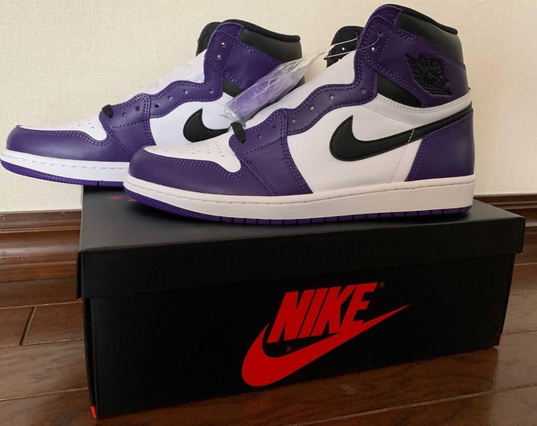 ENDより本日届きました! 紫がいい感じですね!シューレースは黒にします!