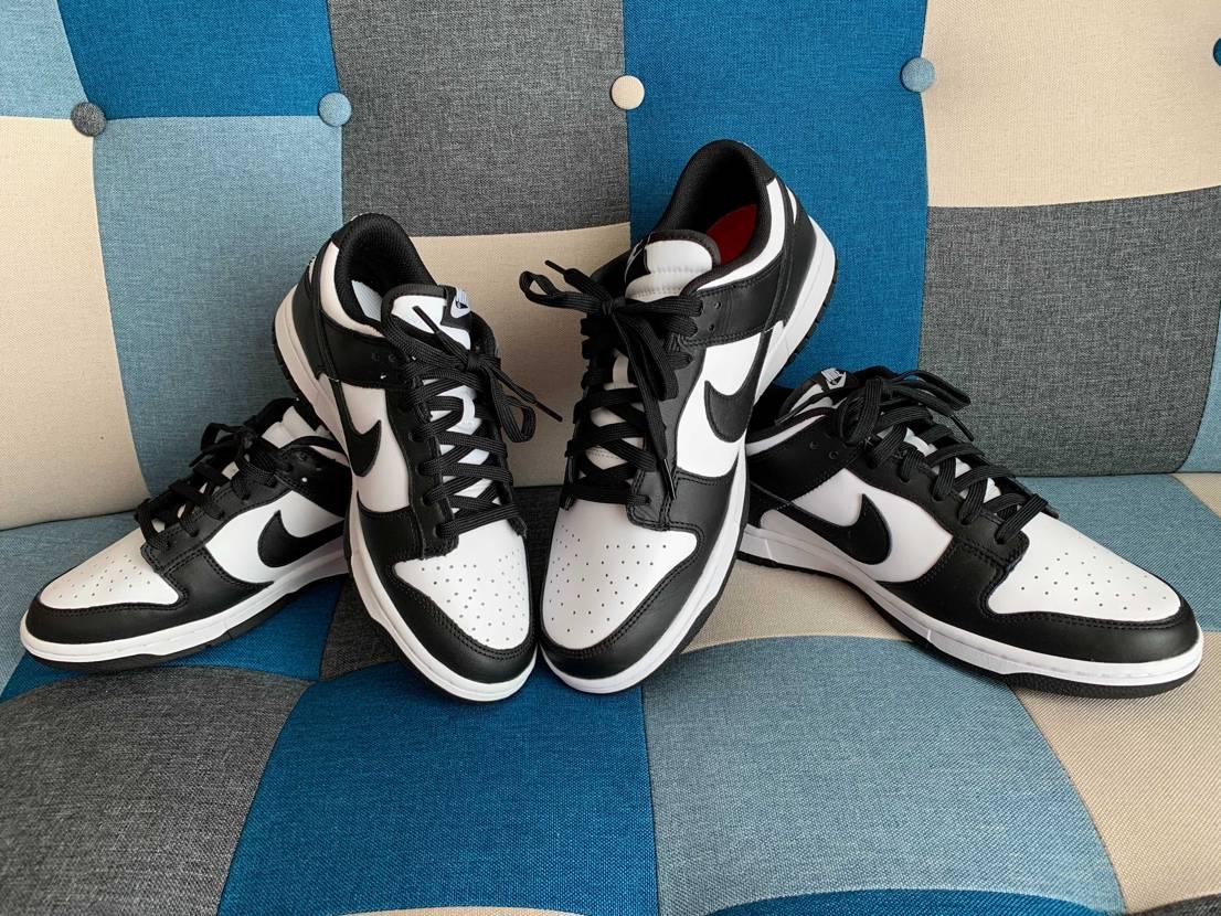 妻とお揃いダンク!かなり良い靴だよ👟