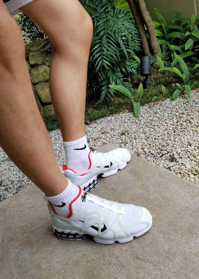 KUKINI撮ろうとしたら、なんかキモい足になった🤣 ヴェイパーモックとサイズ感