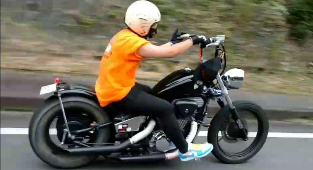 黒いバイクによく映える🤗  Niceな梅雨明けツーリングだった🤩