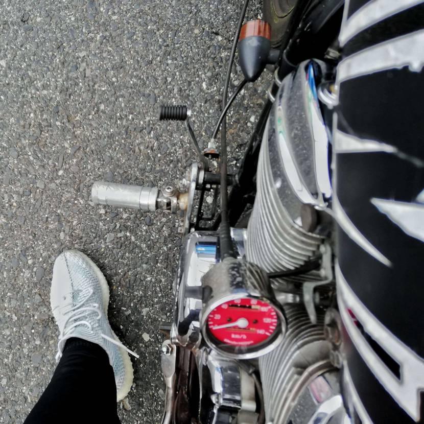yeezy boost 350 × motorcycle