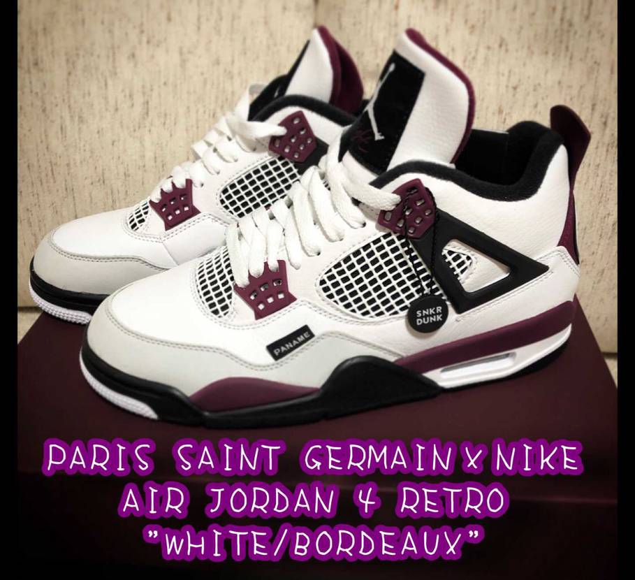 PARIS SAINT GERMAIN×NIKE AIR JORDAN 4 RE