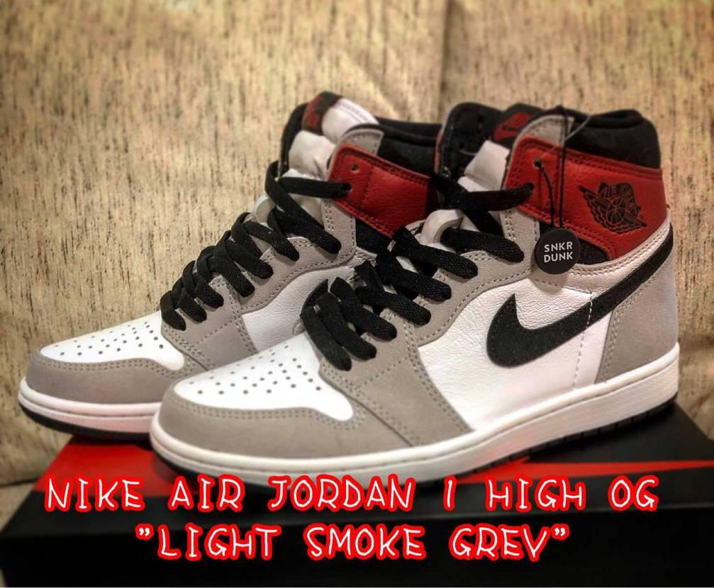 "NIKE AIR JORDAN 1 HIGH OG ""LIGHT SMOKE G"