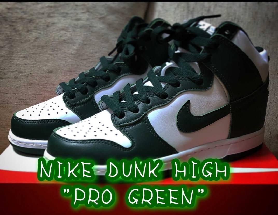 "NIKE DUNK HIGH ""PRO GREEN"""
