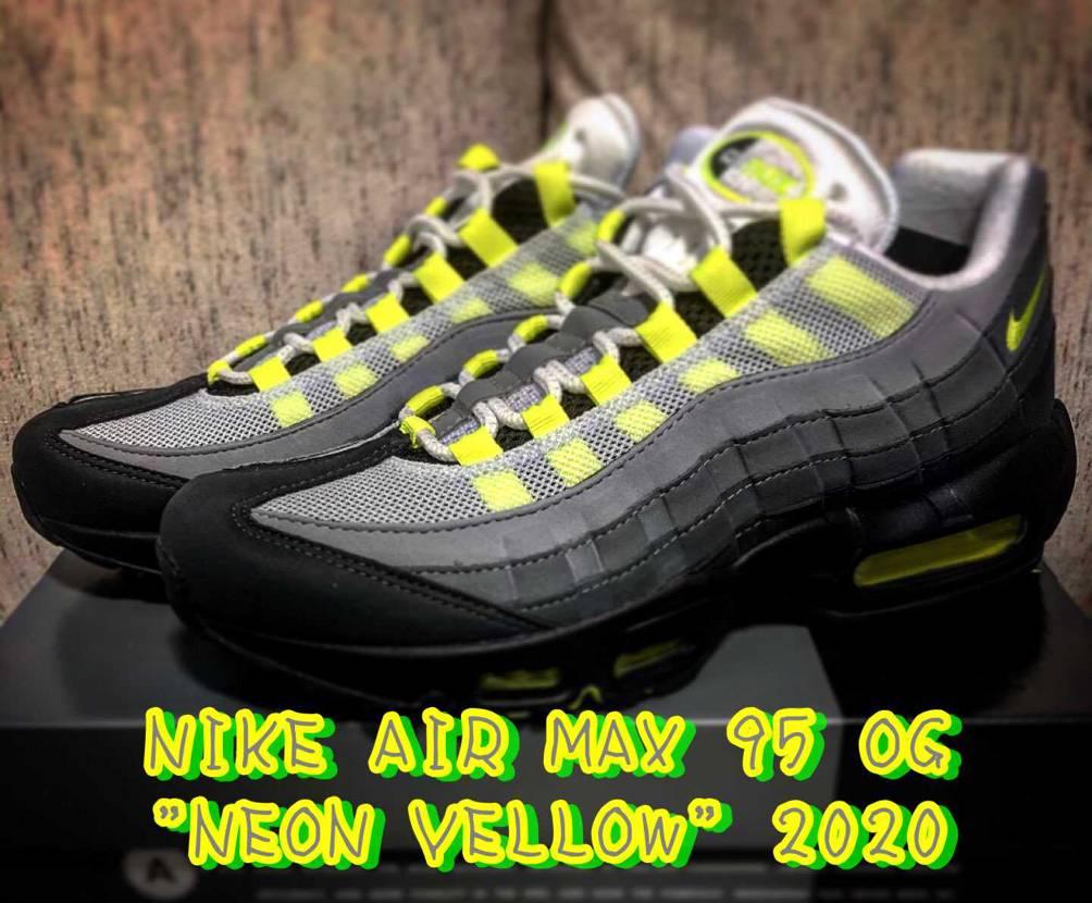 "NIKE AIR MAX 95 OG ""NEON YELLOW"" 2020"