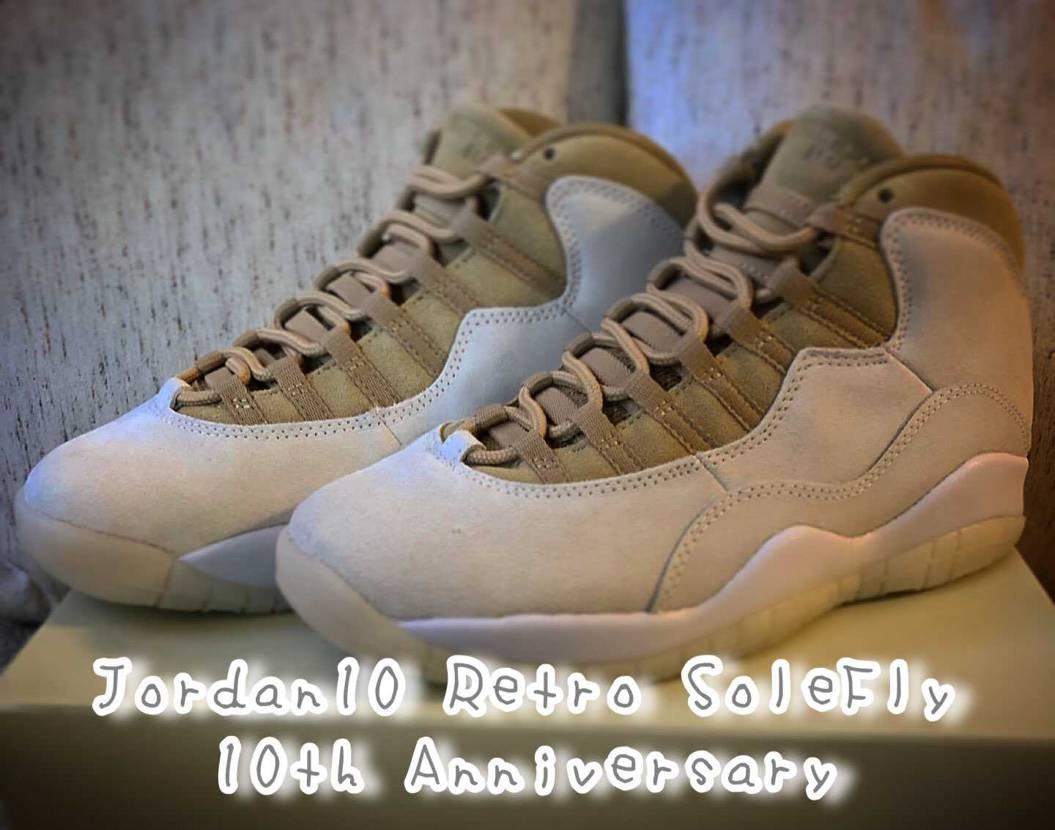 Jordan10 Retro SoleFly 10th Anniversary