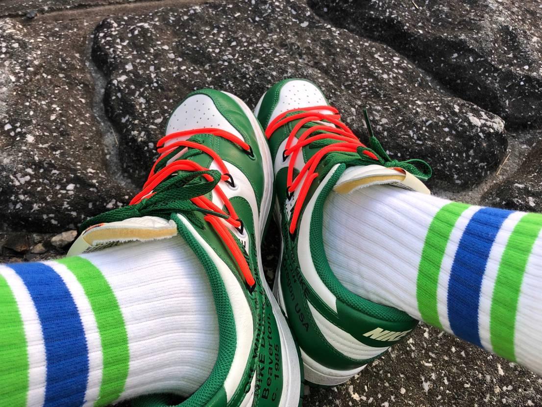 ファミマの靴下と合わせてみました!!