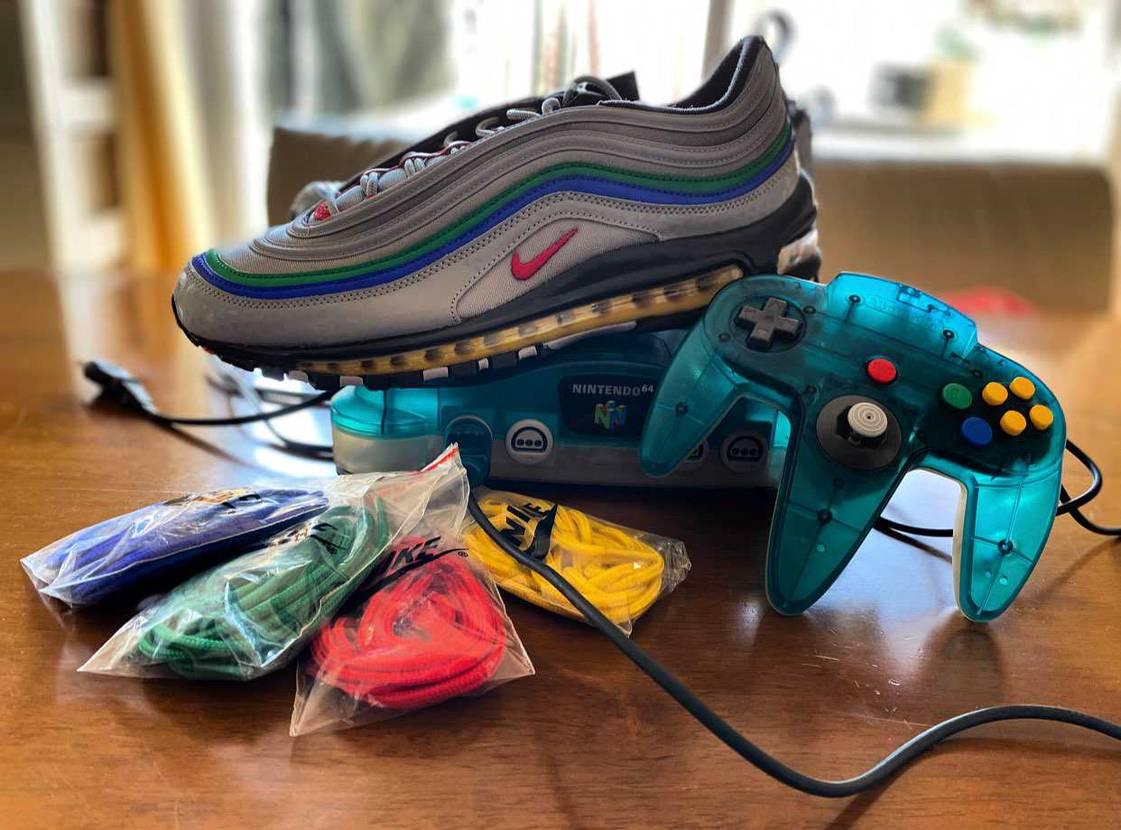 皆さんなら靴紐何色にします??👀#nike #エアマックス97