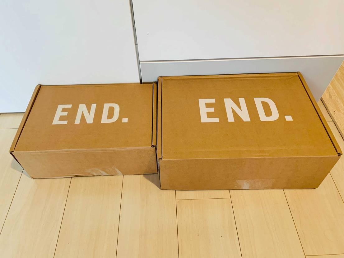 初END当選品が届きました。 JORDAN3に関しては買えてからSNKRSに現