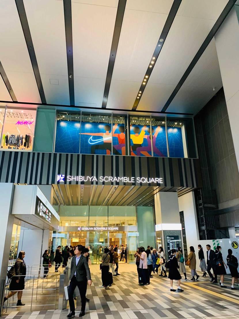 東京出張だったので名古屋戻る前に渋谷のスクランブルスクエアのNIKEにお邪魔して