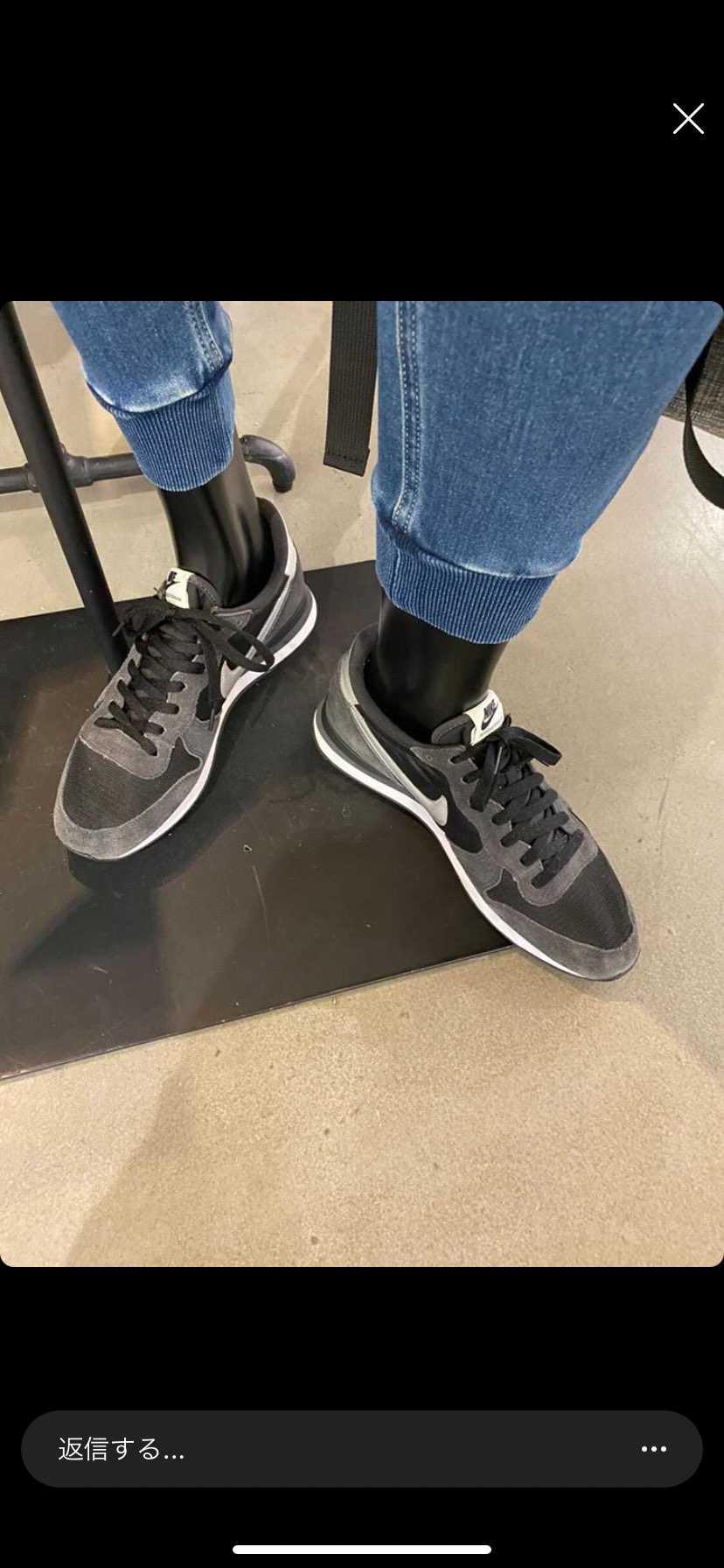 この靴の名前がわかる方いたら教えてください🙏