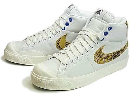 NIKE×stussy 30th ALL COURT MID