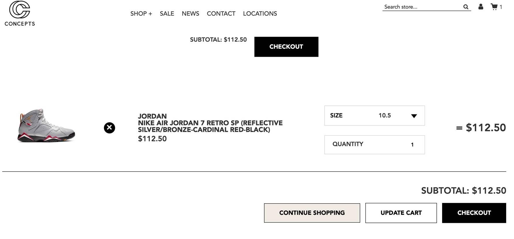 半額だったのでうっかり購入 #jordan7