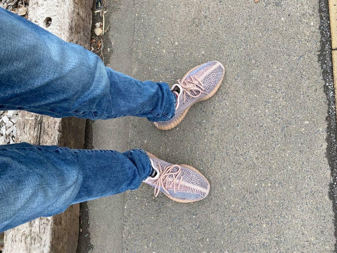 今日は久しぶりに履いてみました😊  やっぱり履き心地良いなぁ🥰
