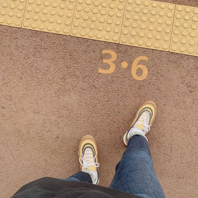 airmax97好き嫌い分かれるけどなかなか好きな1足。 #airmax97