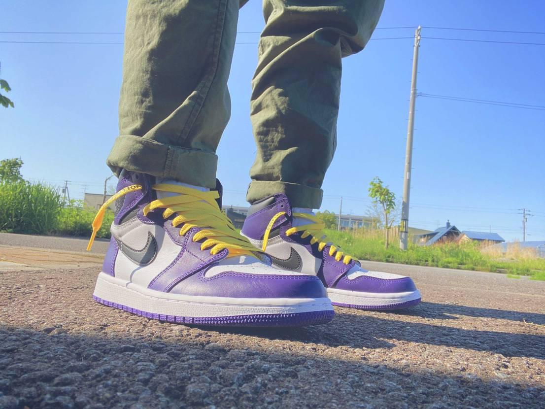 AIR JORDAN1 Court Purple2.0  やっぱりかっこいい