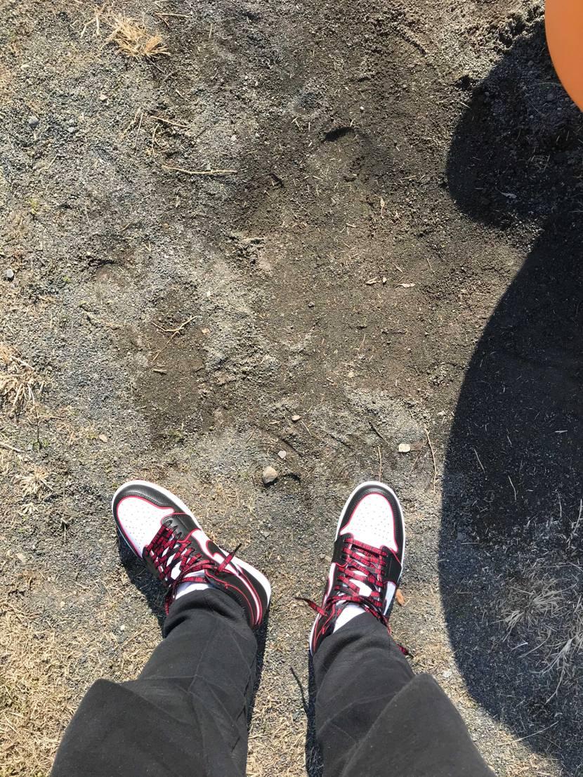 子供と公園。☀️#nike #スニーカー好き #airjor