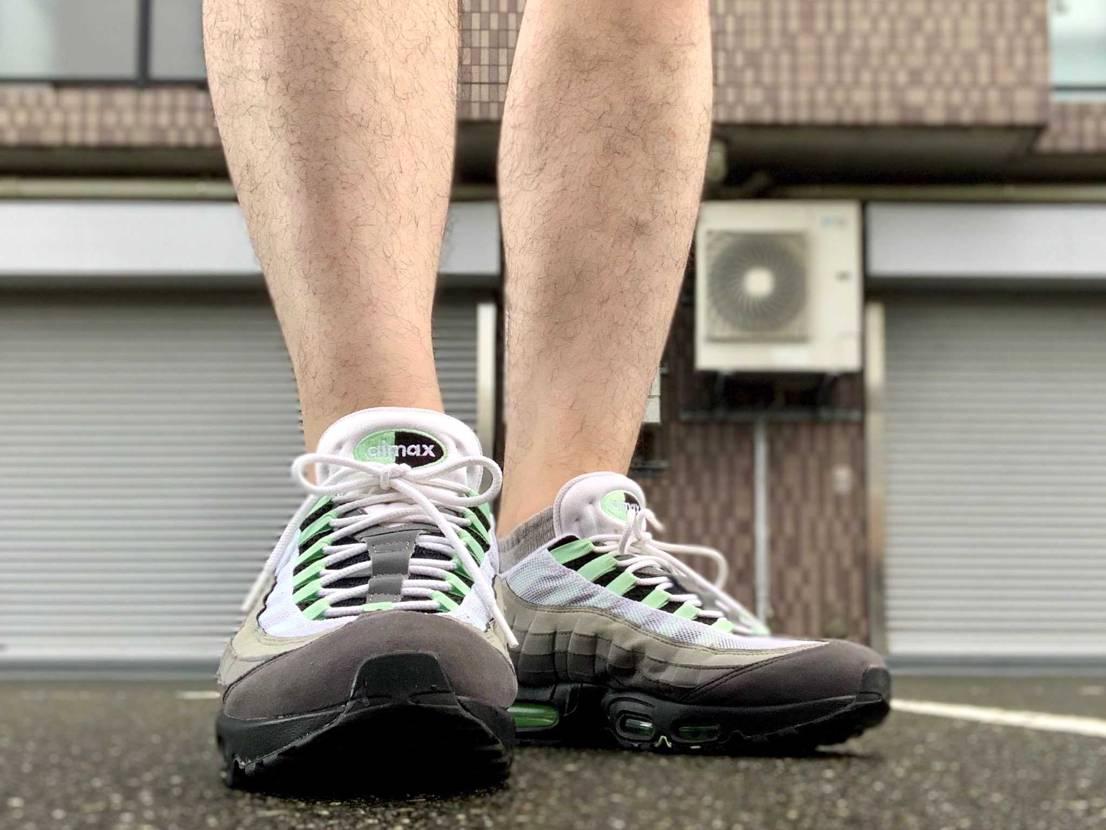 おはこんばんちは。  今日はミント。履きやすく歩きやすいです。